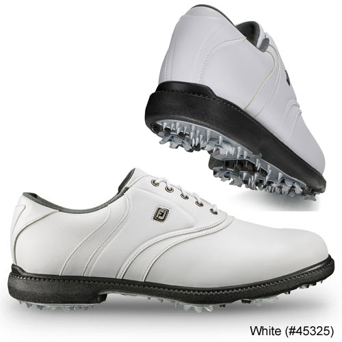 Footjoy FJ Originals Cleatd Plain Toe Twin Saddle Shoes