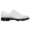 FootJoy FJ Icon V-Saddle White Gator and Lizard Shoes