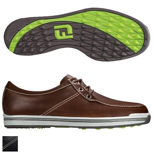 フットジョイ CONTOUR CASUAL Boat Style Spikeless Shoes