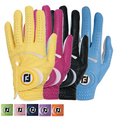 FootJoy Ladies Spectrum Gloves (pack of 3) - Click Image to Close