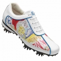 FootJoy Ladies LOPRO COLLECTION w/ Graffitti Pattern Shoes