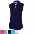 FootJoy Ladies ProDry Interlock Sleeveless Shirt Knit Collar