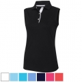 FootJoy Ladies ProDry Interlock Sleeveless Shirt Self Collar