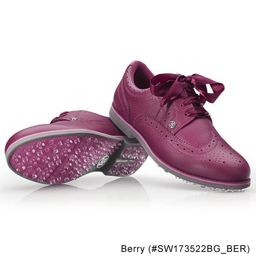 G/FORE Ladies Brogue Gallivanter Berry Golf Shoes