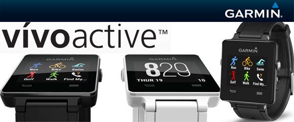 Garmin Vivoactive GPS Smartwatches