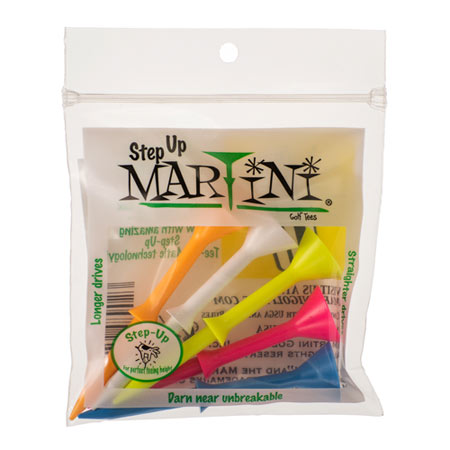 Martini Tees Martini Step Up Golf Tees (Package of 5)