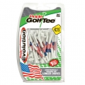 Pride Golf Tee American Flag Evolution Golf Tees