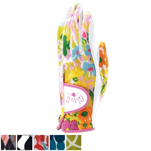 グローブイット Ladies Print Golf Gloves