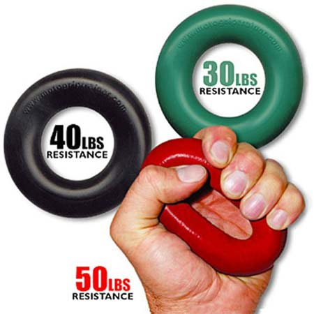 Grip Pro Trainer Resistance for Forearm Hand and Finger Strength