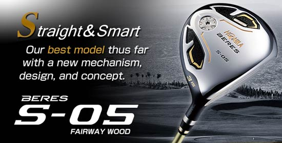 HONMA Beres S05 Fairway Woods - Fairway Golf Online Golf Store – Buy Custom  Golf Clubs and Golf Gear