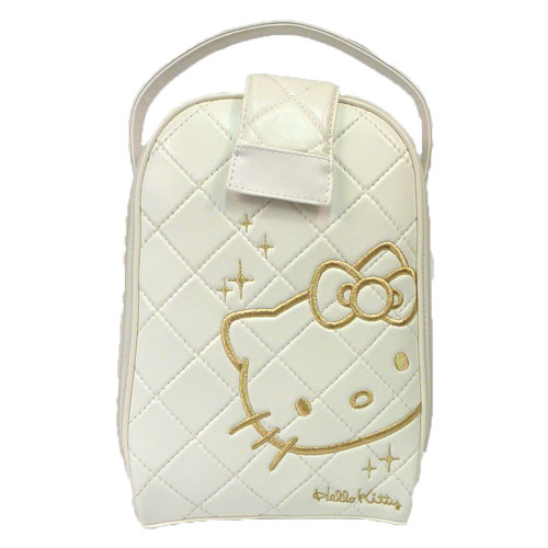 ハローキティー Ladies White Shoe Bags
