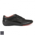 Hugo Boss Textured Leather Sneaker (#50307934)