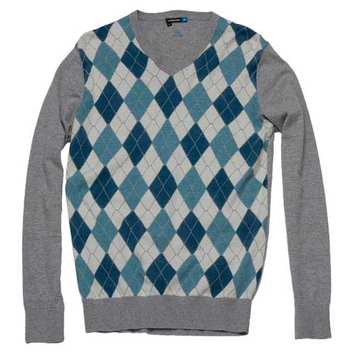 Jlindeberg Banner Lux Print Argyle Sweaters (#22MG740987704)