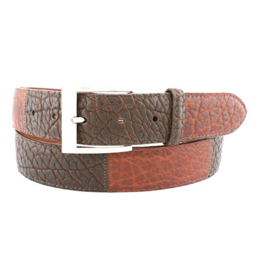 Jacob Hill Leather Bison 1 1/2 Leather Belts
