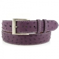 Jacob Hill Leather Ostrich 1 1/2 Leather Belts