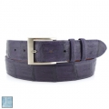 Jacob Hill Leather Caiman Crocodile 1 1/2 Leather Belts