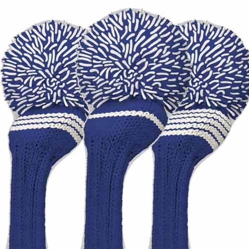ジャンクレイグ ヘッドカバー Royal White Stripe Individual Headcover
