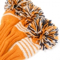 Jan Craig Orange White Navy Stripe Headcover Sets