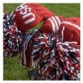 Jan Craig Red White Navy Stripe Headcover Sets w/USA Logo