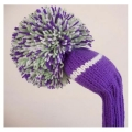 Jan Craig Purple White Meadow Stripe Headcover Sets
