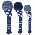 Just 4 Golf Ladies Navy and White Dot Headcovers