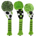 Just 4 Golf Ladies Lime and White Dot Headcovers