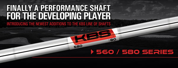 KBS Tour 560/580 Series Iron Shafts