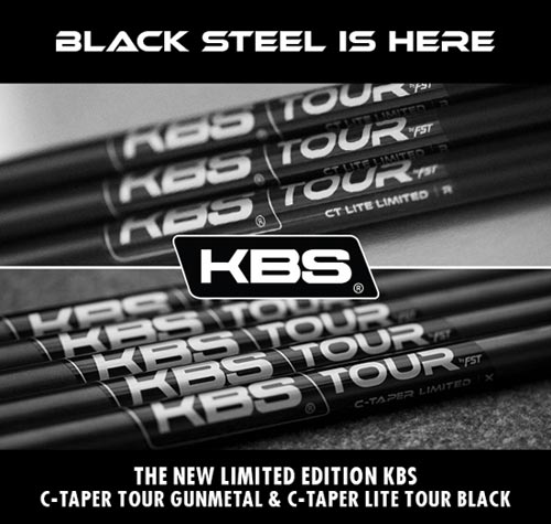 KBS Limited Edition C-TAPER Black Iron Shaft