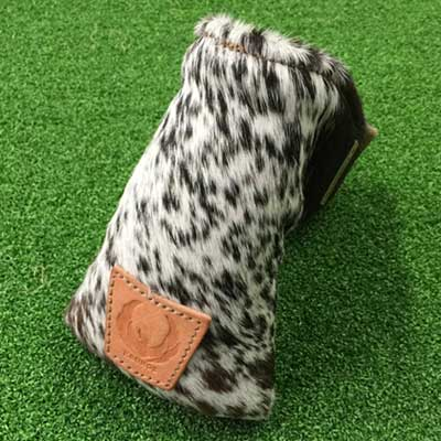 Kronos Golf Spotted Fur Putter Headcovers