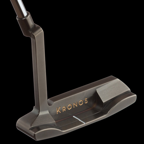 Kronos Golf Release Refined PVD Carbon Putter