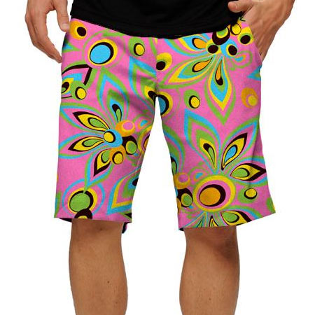 LoudMouth Shagadelic Pink Shorts