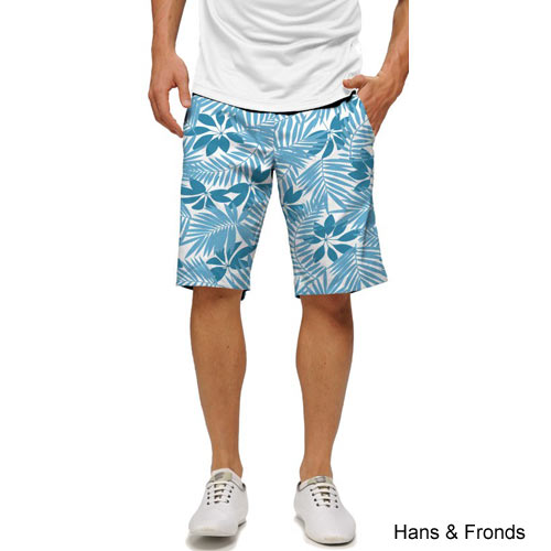 LoudMouth Hans & Fronds Shorts