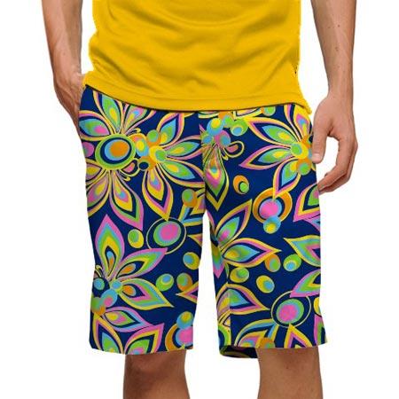 ラウドマウスゴルフ Shagadelic Blue Shorts