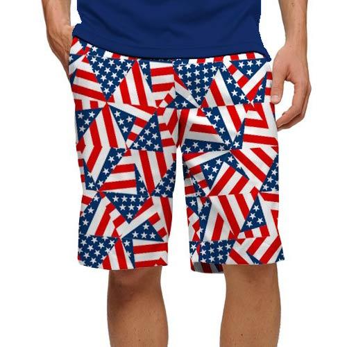 ラウドマウスゴルフ Flagadelic Shorts