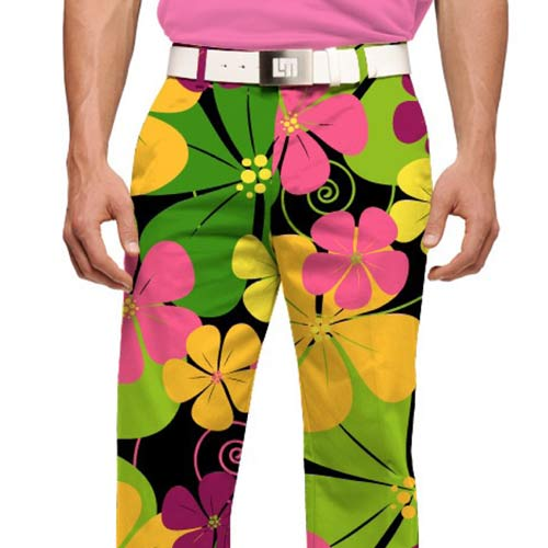 LoudMouth Big Poppies Pants