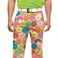 LoudMouth Doughnuts Pants