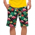 LoudMouth Flamingo Bay StretchTech Shorts