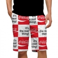 LoudMouth Coca-Cola It's the Real Thing StretchTech Short