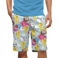 LoudMouth French Poodle Sundae StretchTech Short