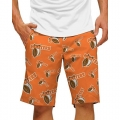 LoudMouth Hooters Orange StretchTech Short