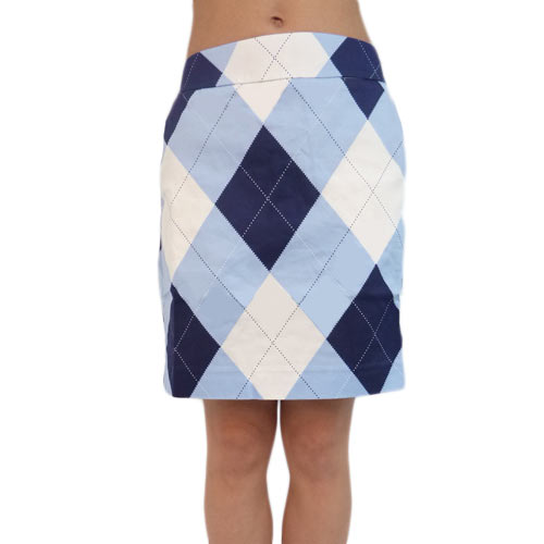 LoudMouth Ladies Blue & White Skorts (#SK)