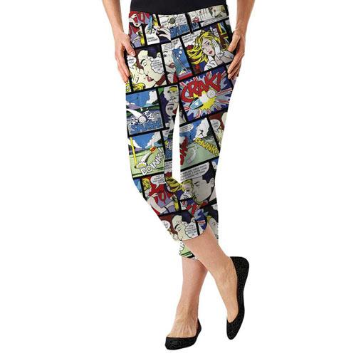 LoudMouth Ladies Crak Capri Pants (#WC)