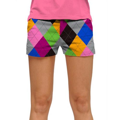 ラウドマウスゴルフ Ladies Pargyle Mini Shorts (#SS)