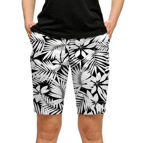 ラウドマウスゴルフ Ladies Midnight Island Shorts (#WS)