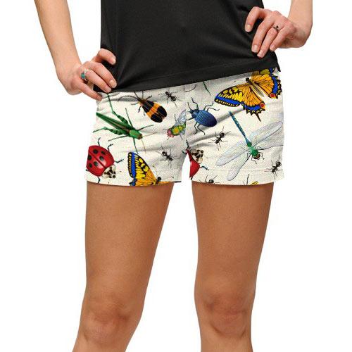ラウドマウスゴルフ Ladies Big Bugs Mini Shorts (#SS)
