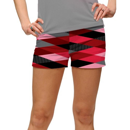 LoudMouth Ladies Fore Shades of Red Mini Shorts