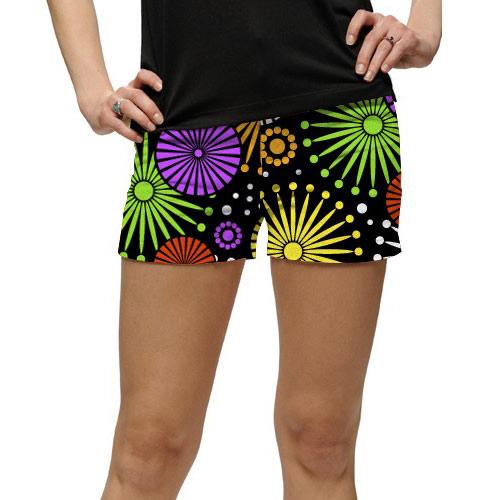 ラウドマウスゴルフ Ladies Ferris Wheels Mini Shorts