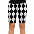 LoudMouth Ladies Black & White Short (#WS)