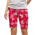 LoudMouth Ladies Sweethearts Bermuda Shorts