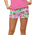 LoudMouth Ladies Mint Julep Mini Shorts